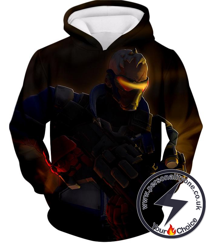 Overwatch Deadly Mercenary Former Agent Soldier:76 Hoodie