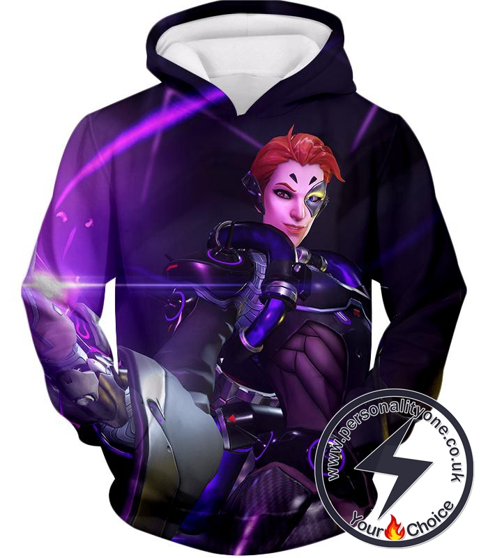 Overwatch Support Hero Moira Hoodie