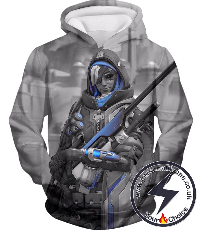 Overwatch Ultimate Sniper Support Hero Ana Hoodie