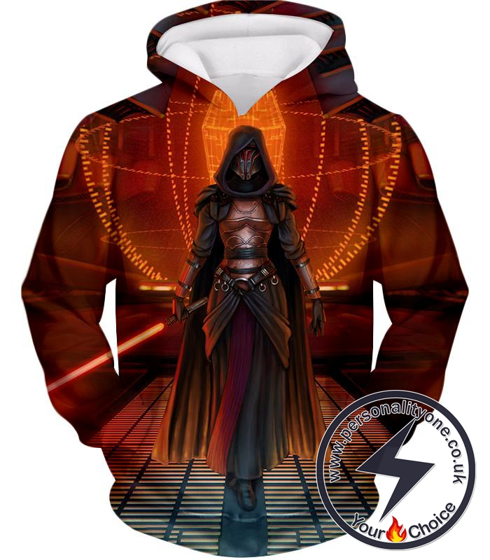 Star Wars Awesome Sith Lord Darth Revan Female Graphic Action Hoodie