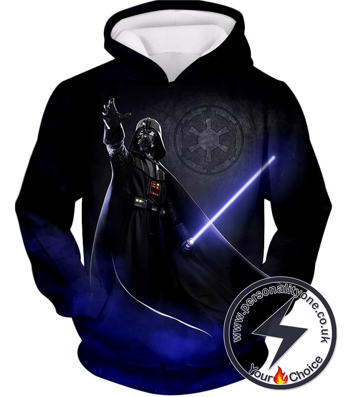 Star Wars Darth Vader Leader of Galactic Empire Awesome Action Black Hoodie