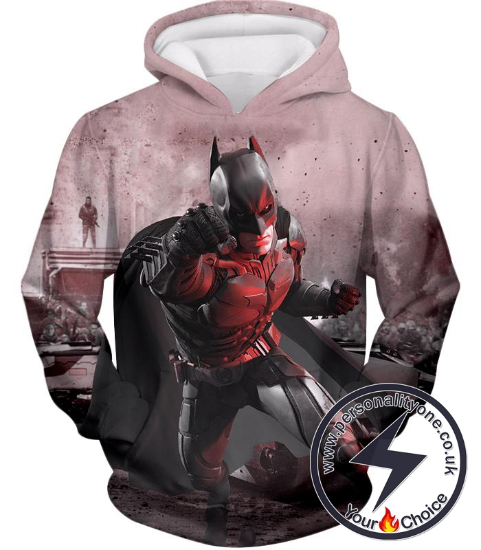 Ultimate 3D Graphic Batman Action Awesome Hoodie