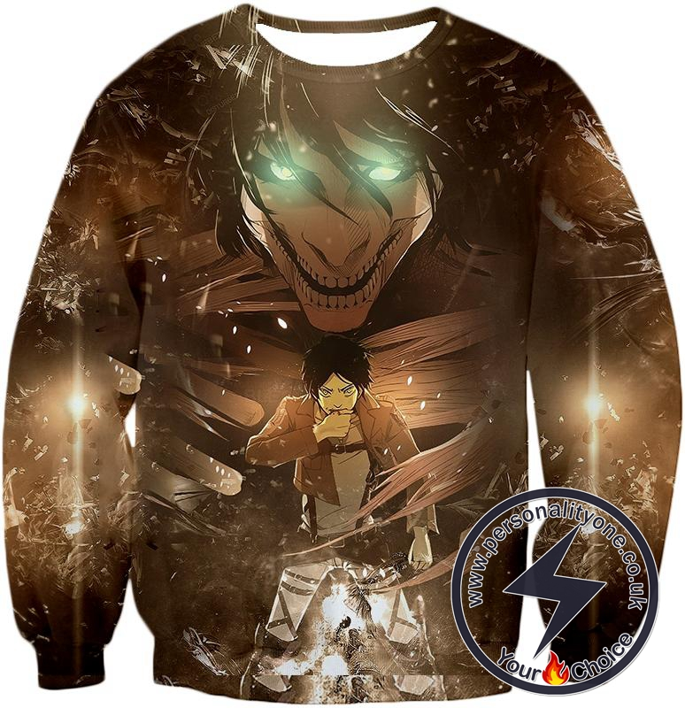 Attack on Titan Eren Yeager The Titan Dark Sweatshirt