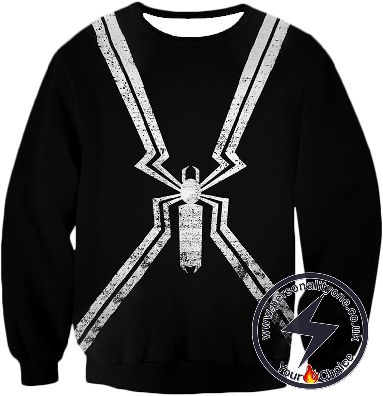 Black Spider-Man Logo Promo Sweatshirt