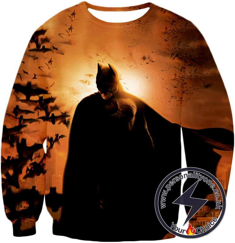 Cool Batman HD Promo Awesome Graphic Sweatshirt