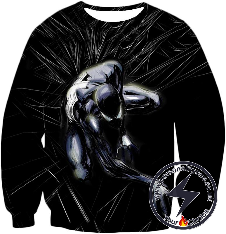 Dark Spider-Man Venom Black Sweatshirt