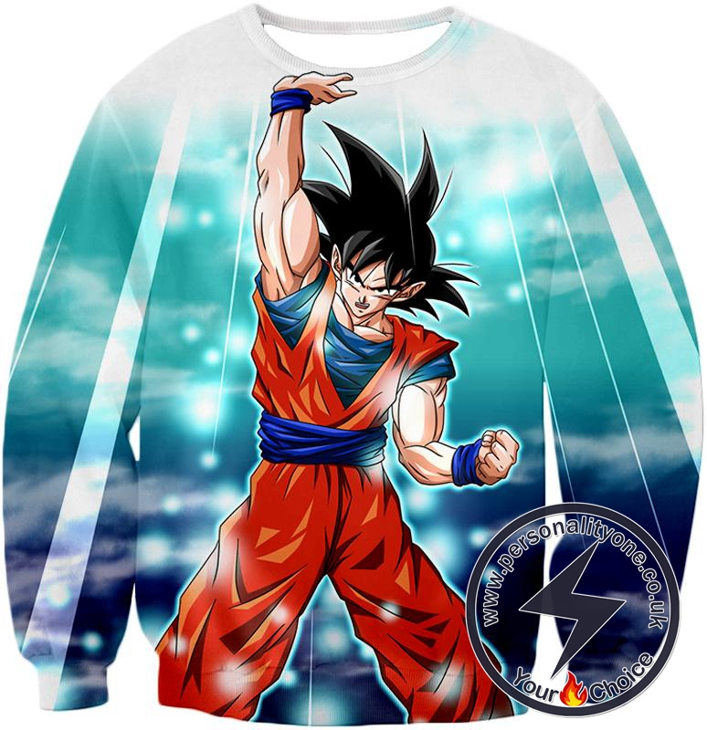 Dragon Ball Super Best Fighter Goku Awesome Hero Action Anime Sweatshirt