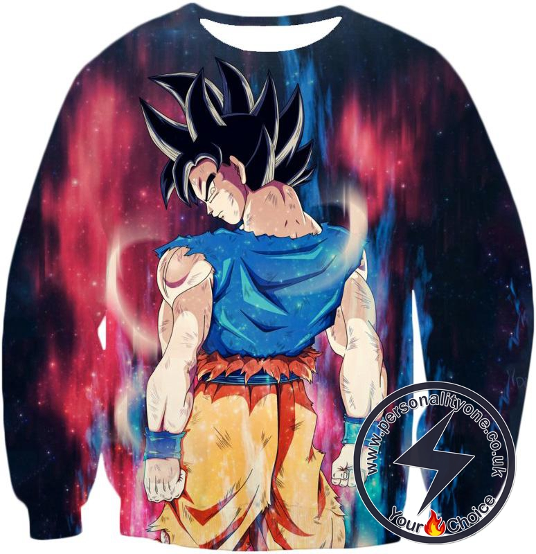 Dragon Ball Z Sweatshirt - A Surging New Power Goku Ultra Instinct