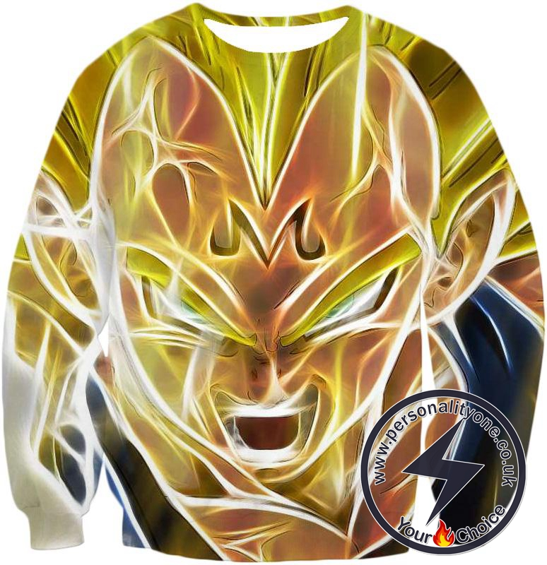 Dragon Ball Z Sweatshirt - Majin Vegeta Super Saiyan
