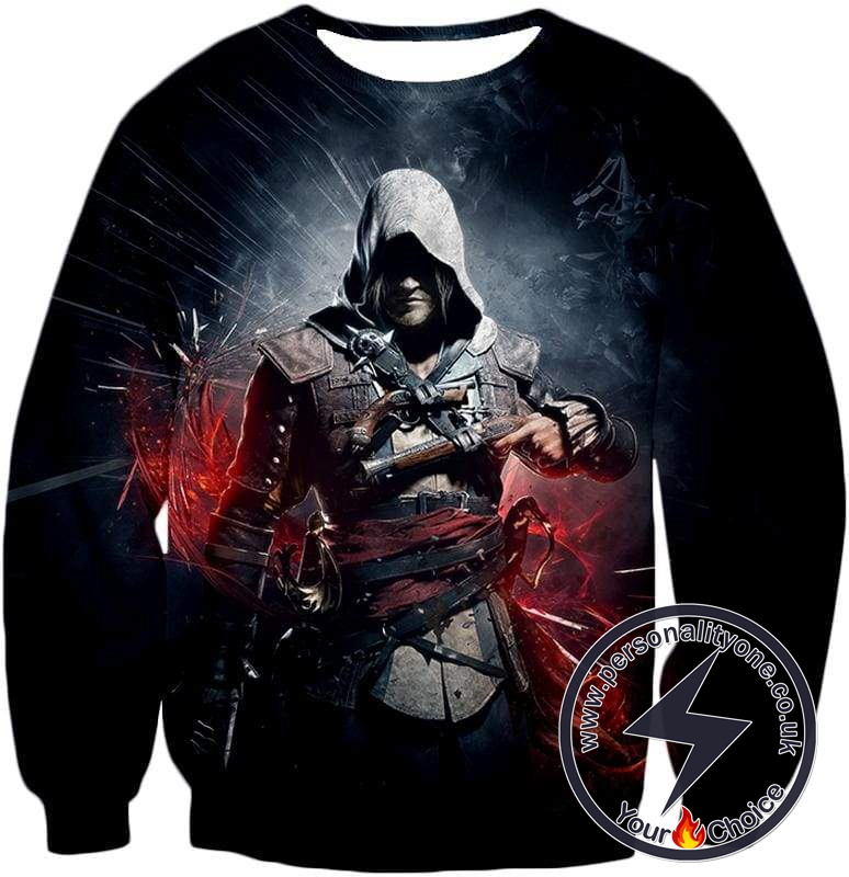 Edward James Kenway Incredible Black Flag Assassin Promo Sweatshirt