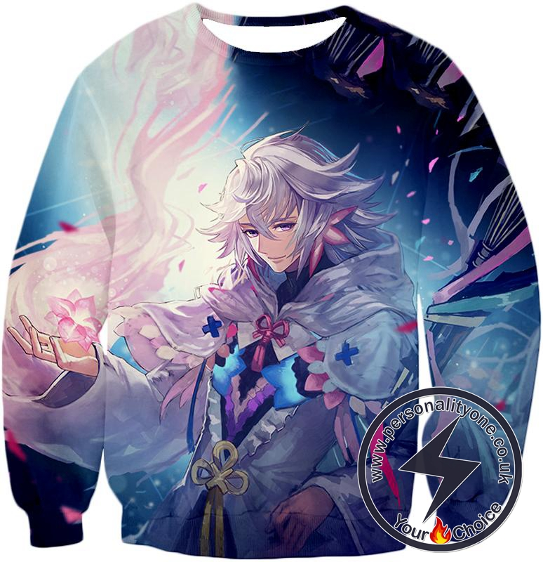Fate Stay Night Handsome Grand Order Caster Merlin Sweatshirt