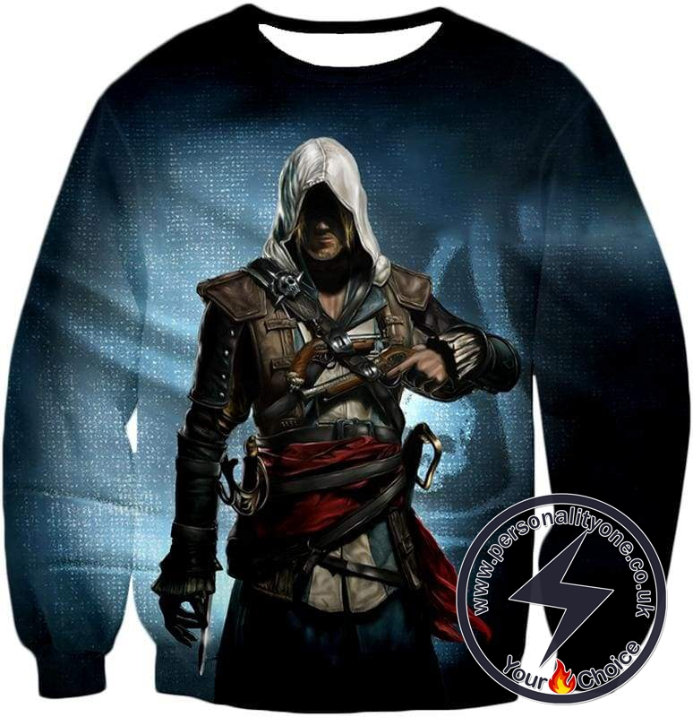 Incredible Hero Edward James Assassin's Creed Black Flag Promo Sweatshirt