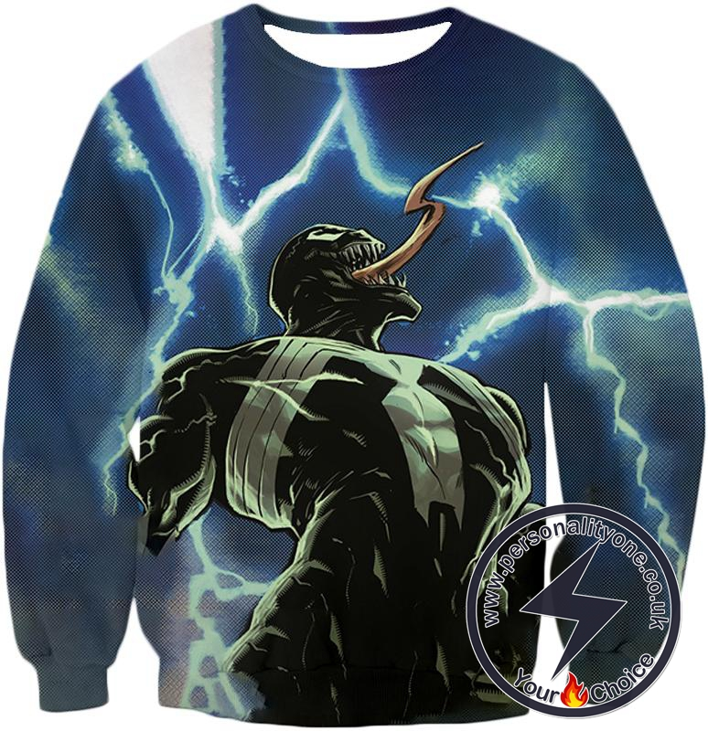 Marvels Animated Venom Dark Sweatshirt