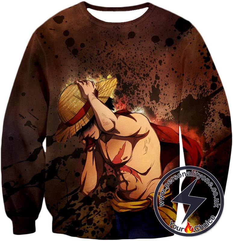 One Piece Best Pirate Captain Monkey D Luffy Cool Anime Sweatshirt