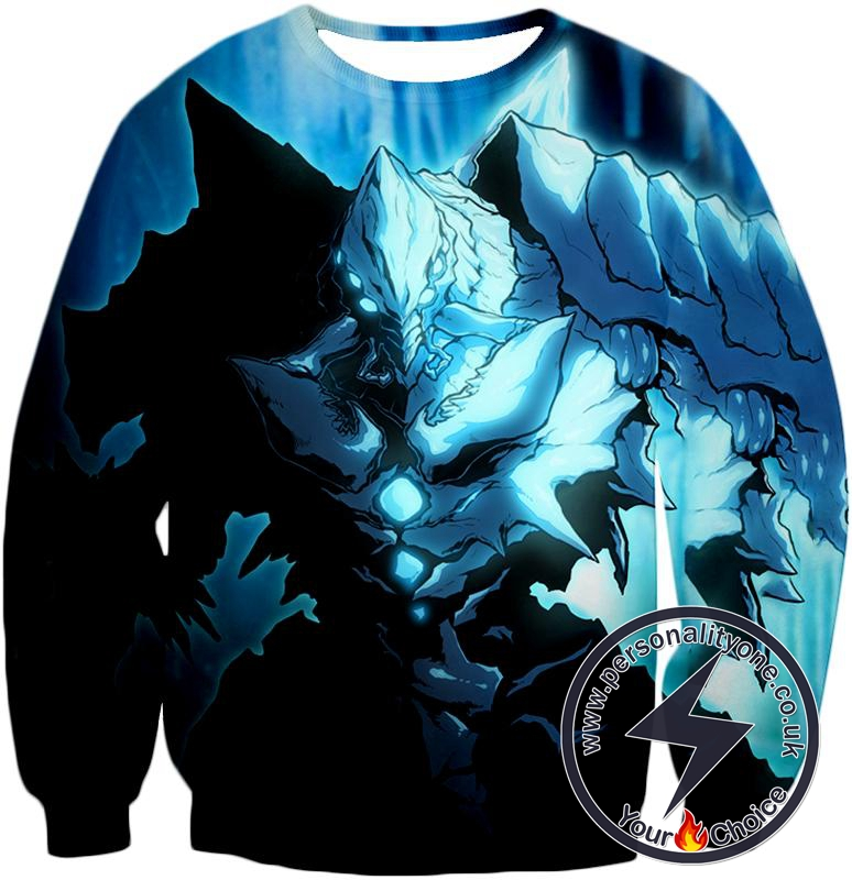 Overlord Ultimate Ruler of the Frozen Glacier Cocytus Cool Anime Promo Sweatshirt