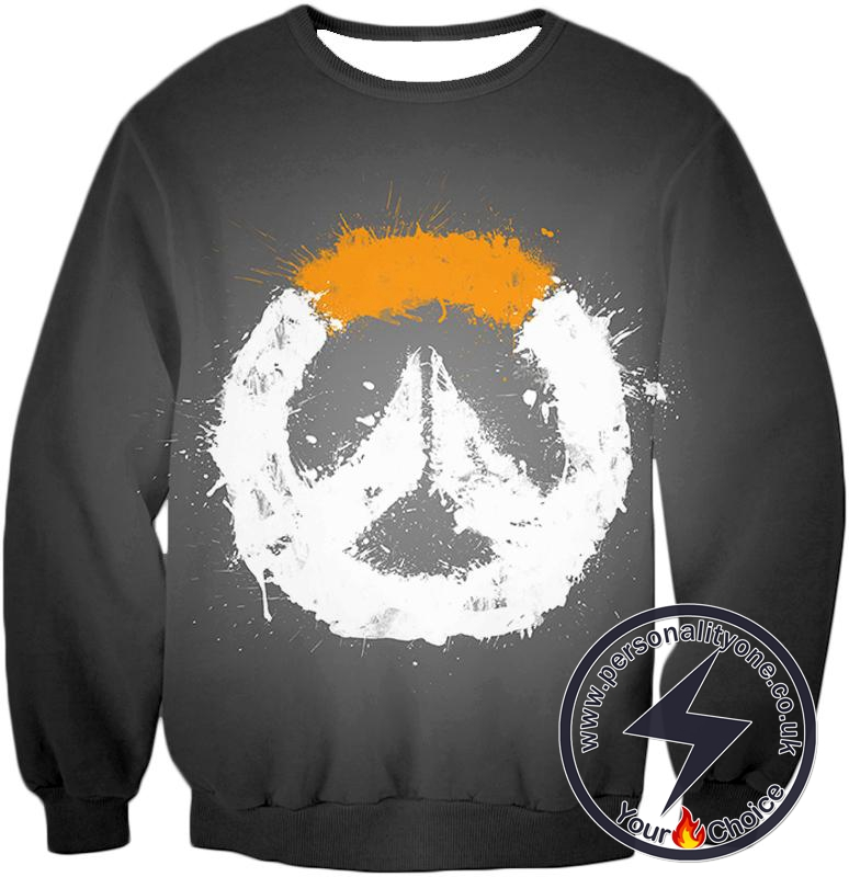 Overwatch Cool Black Logo Sweatshirt