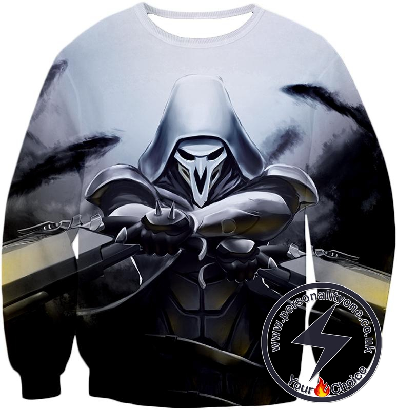 Overwatch Deadly Ghost Reaper Sweatshirt