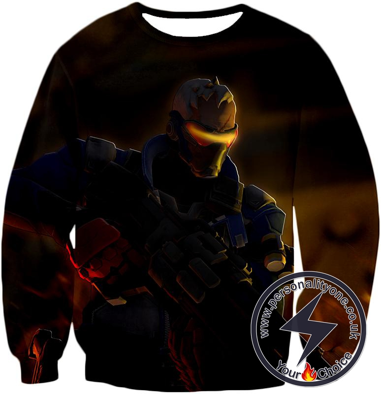 Overwatch Deadly Mercenary Former Agent Soldier:76 Sweatshirt