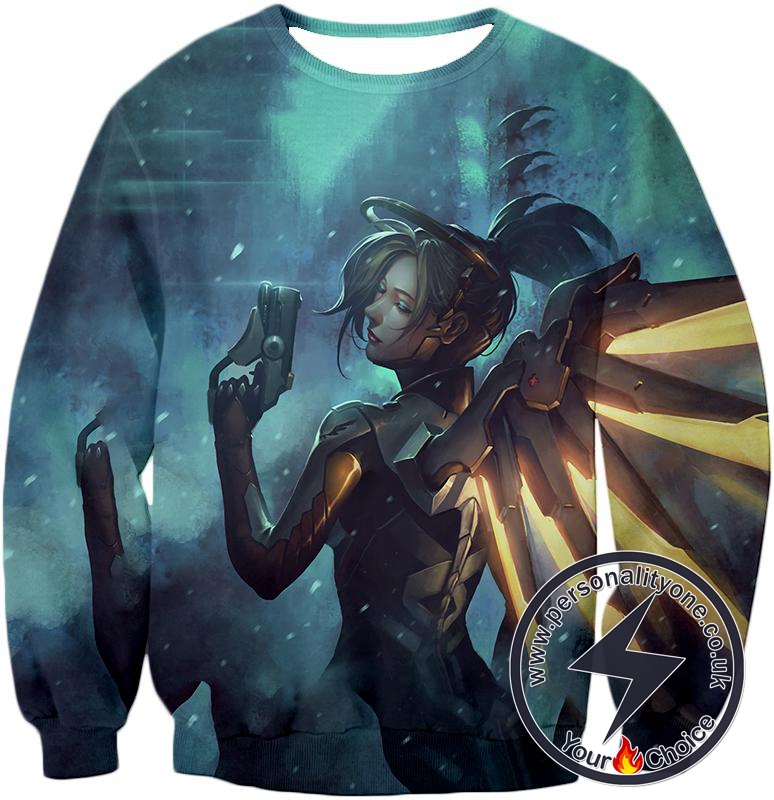 Overwatch Support Hero Mercy Sweatshirt