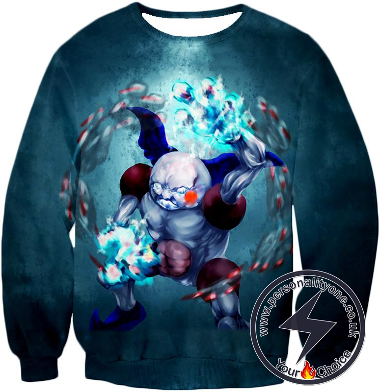 Pokemon Awesome Fairy Psychic Pokemon Mr Mime Action HD Graphic Anime Sweatshirt