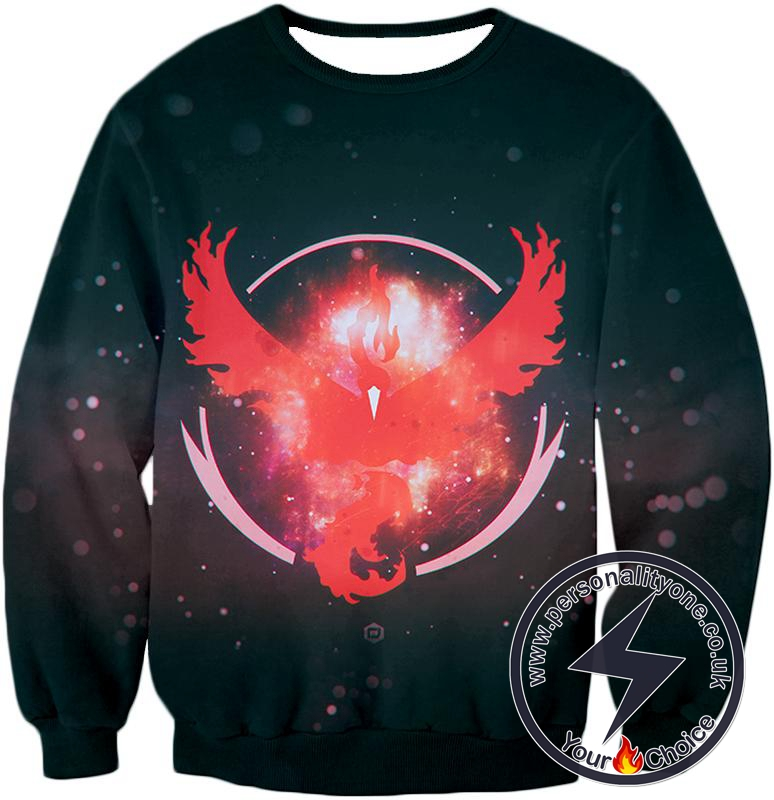Pokemon Moltress the Legendary Fire Pokemon Logo Amazing Sweatshirt