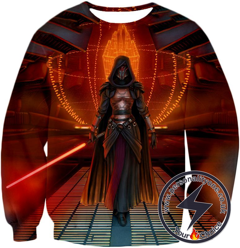 Star Wars Awesome Sith Lord Darth Revan Female Graphic Action Sweatshirt