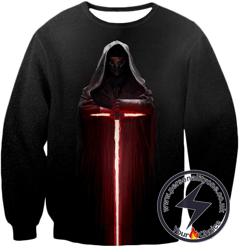 Star Wars Extremely Powerful Sith Lord Kylo Jen Cool Black Sweatshirt