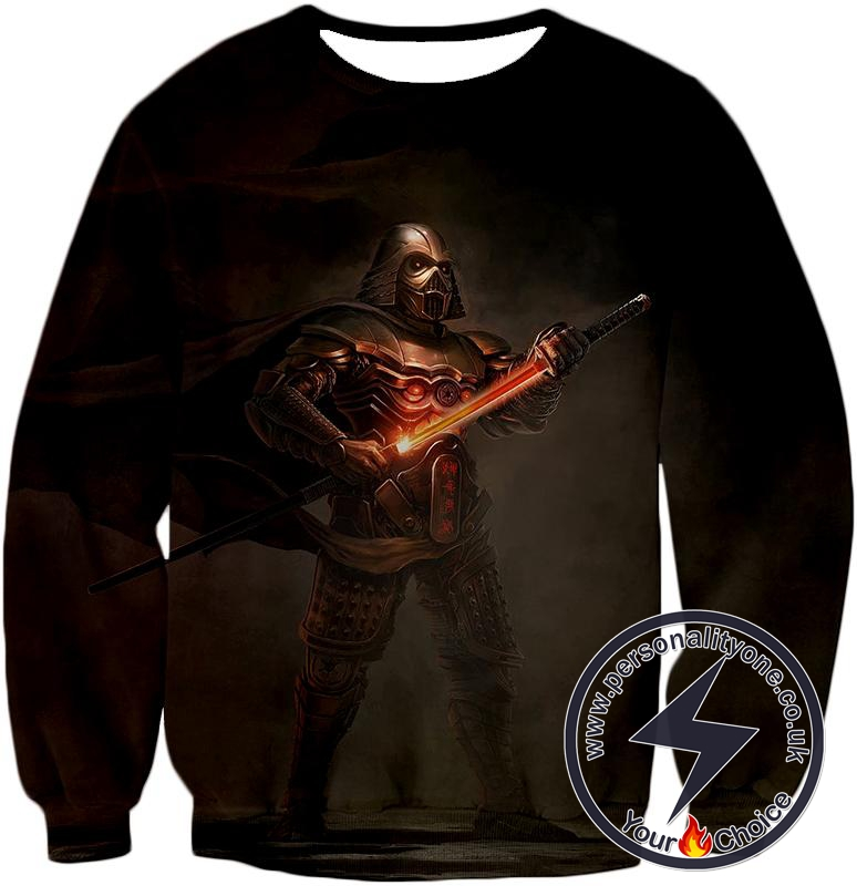 Star Wars Legendary Sith Lord Darth Vader Awesome Cosplay Graphic Sweatshirt