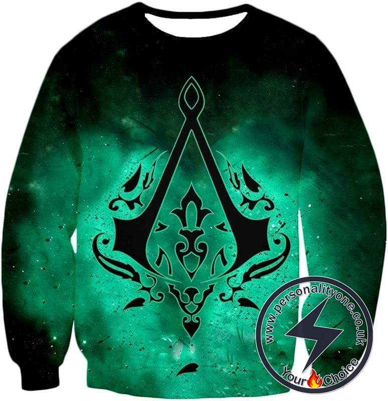 Super Cool Logo Assassin's Creed Ultimate Graphic Promo Sweatshirt