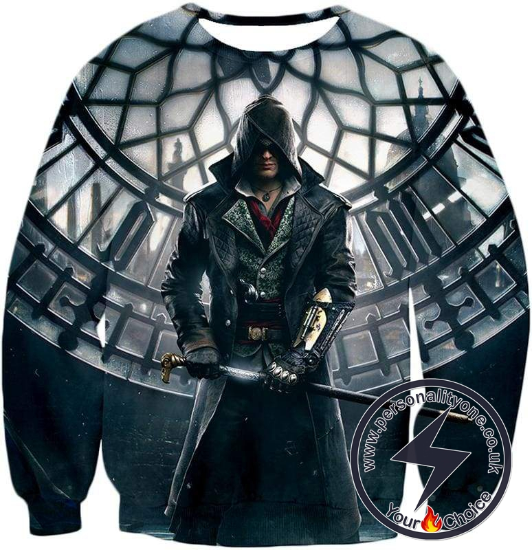 Super Cool Syndicate Assassin Jacob Frye Awesome Action Sweatshirt