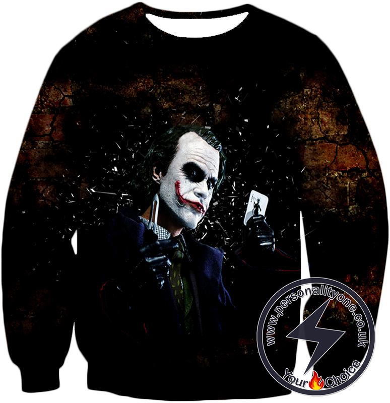 Ultimate Super Villain The Joker HD Print Sweatshirt