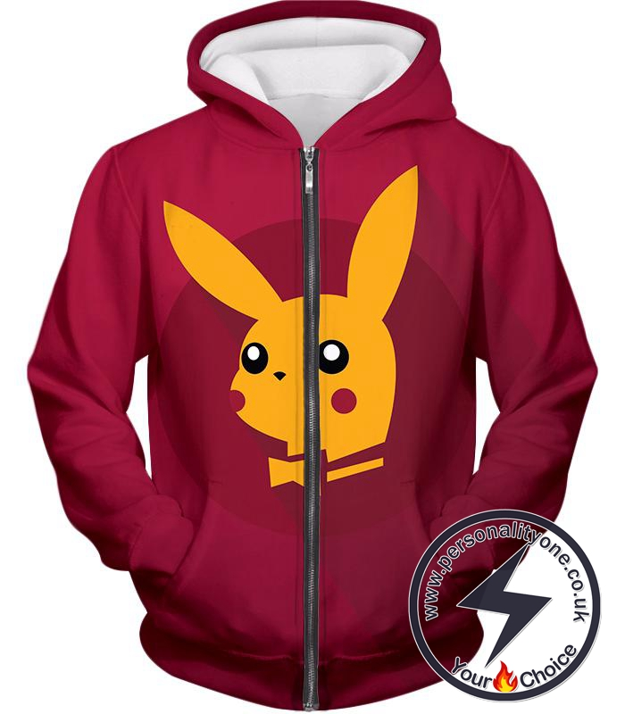 Pokemon Amazing Pokemon Promo Pikachu Cool Purple Anime Zip Up Hoodie
