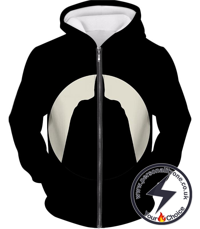 Ultimate Gotham Vigilante Batman Promo Black Zip Up Hoodie