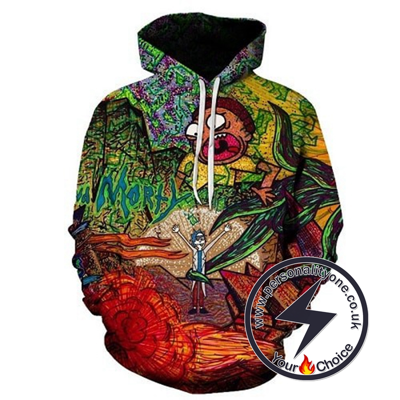 2020 Amazing Rick And Morty Unisex Hoodies