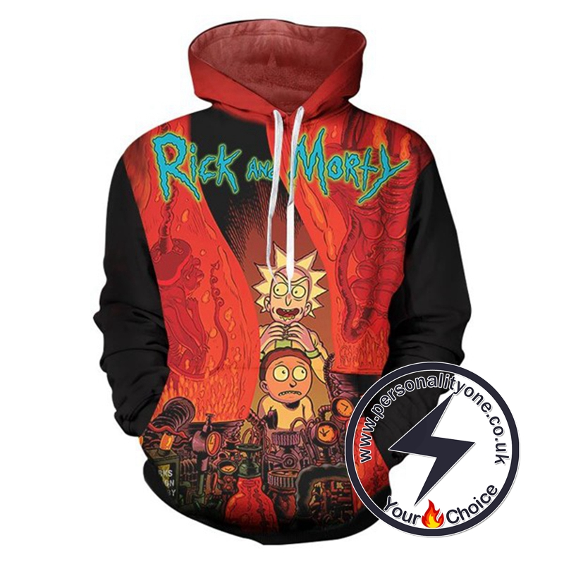 2020 Fashion Hip Hop Rick And Morty Hoodie