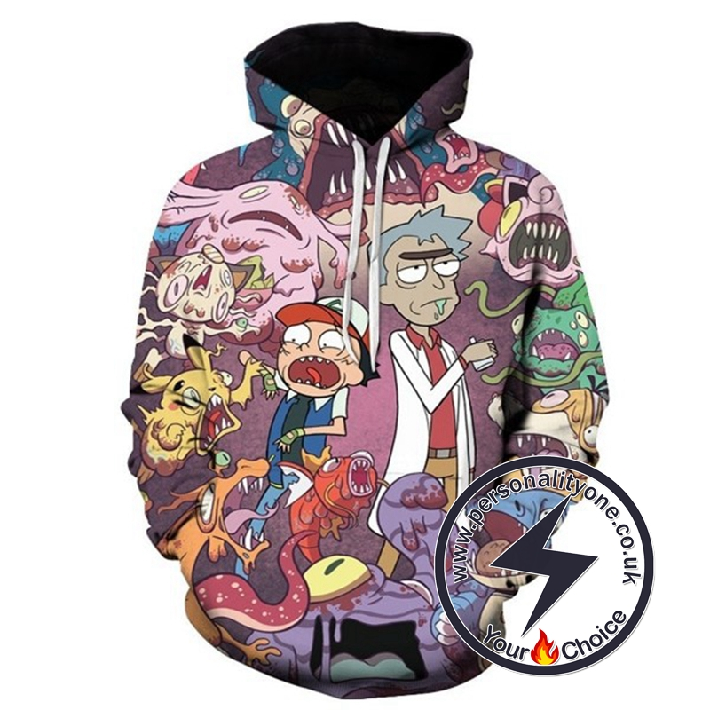2020 New Rick And Morty Unisex Hoodies