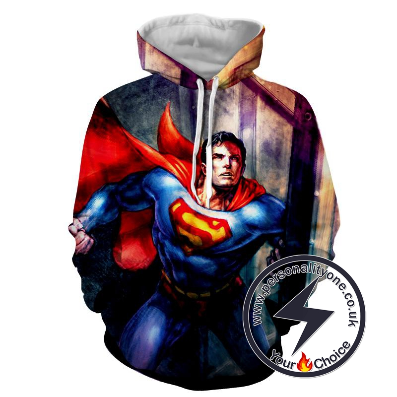Amazing Super Man - Superman Sweat Shirt - Superman Hoodies