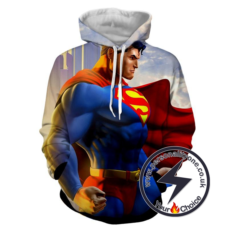 Amazing Superman - Superman Sweat Shirt - Superman Hoodies