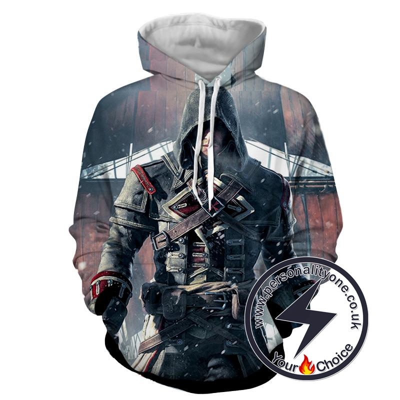 Assassin's Creed 3D - Edward - Assassin's Creed Hoodies