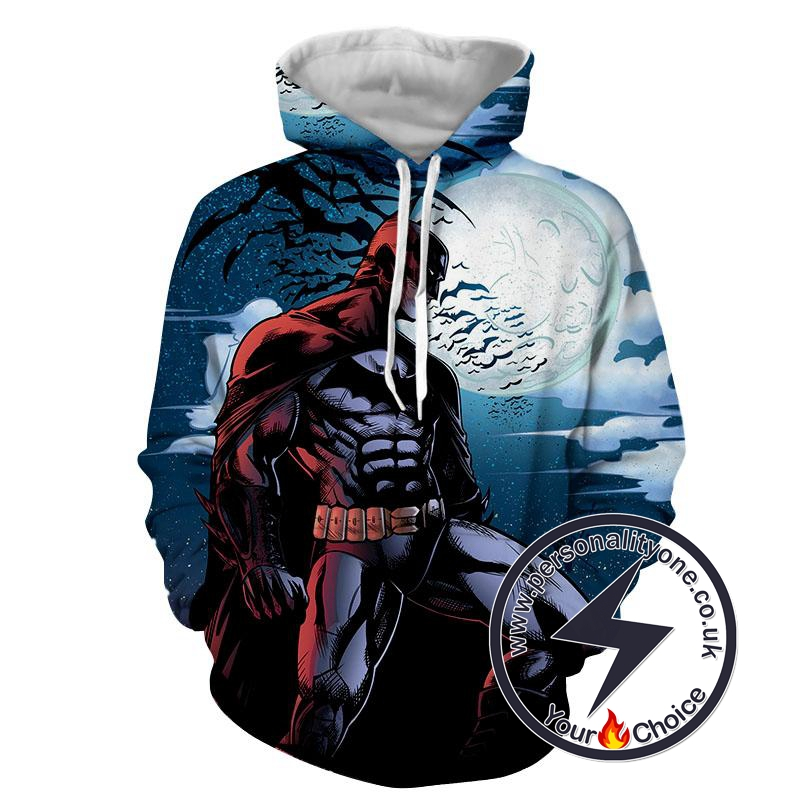 Batman - Angry Batman 3D - Hoodies