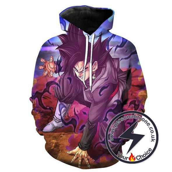 Dragon Ball Z - Black Goku 3D - Hoodies