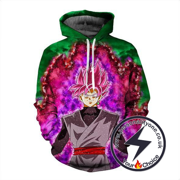 Dragon Ball Z - Black Goku SSJ 3D - Hoodies