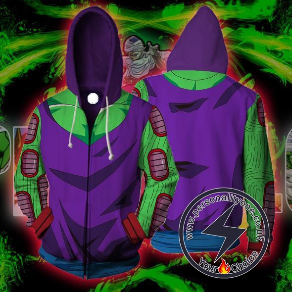Dragon Ball Z - Piccolo Armoured ZipUp - Hoodies Jackets