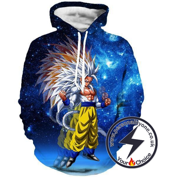Dragon Ball Z - SSj 3 3D - Hoodies