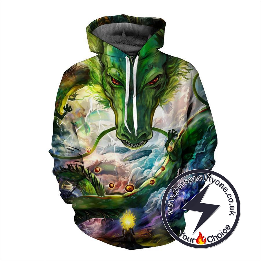 Dragon Ball Z - Shenron With Dragon Ball 3D - Hoodies