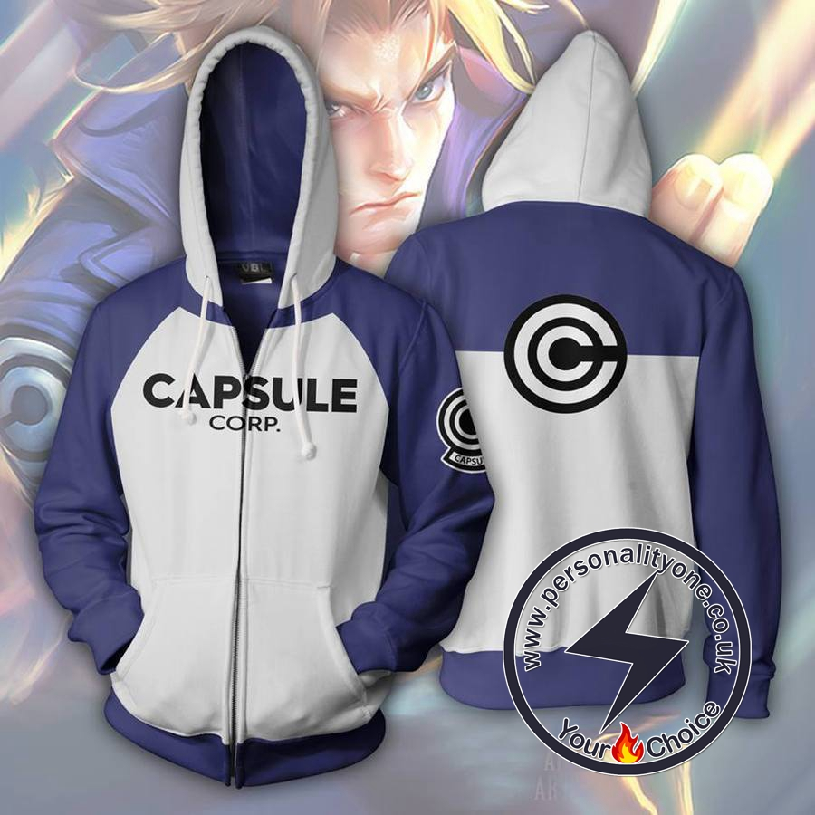 Dragon Ball Z - Trunks Capsule ZipUp - Hoodies Jackets