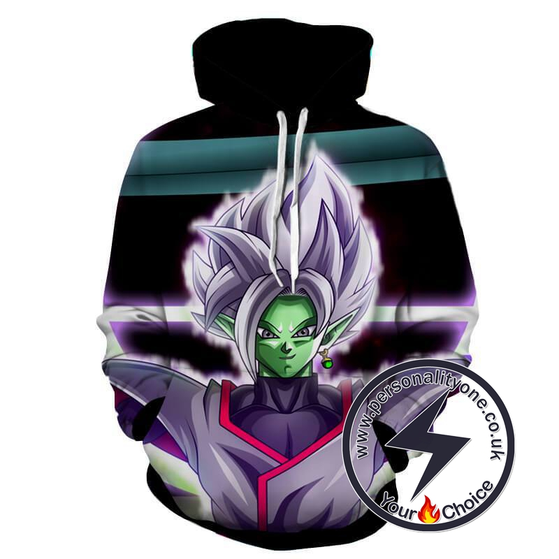 Dragon Ball Z - Zamasu Villain 3D - Hoodies