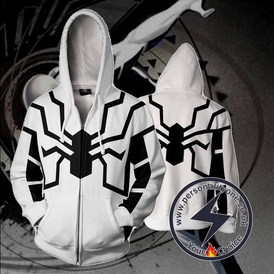 FUTURE FOUNDATION SPIDERMAN 3D Hoodies Jackets - ZIP UP - SPIDERMAN 3D
