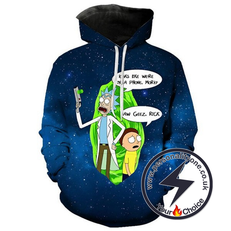 Hot Rick And Morty Style Hiphop Hoodie