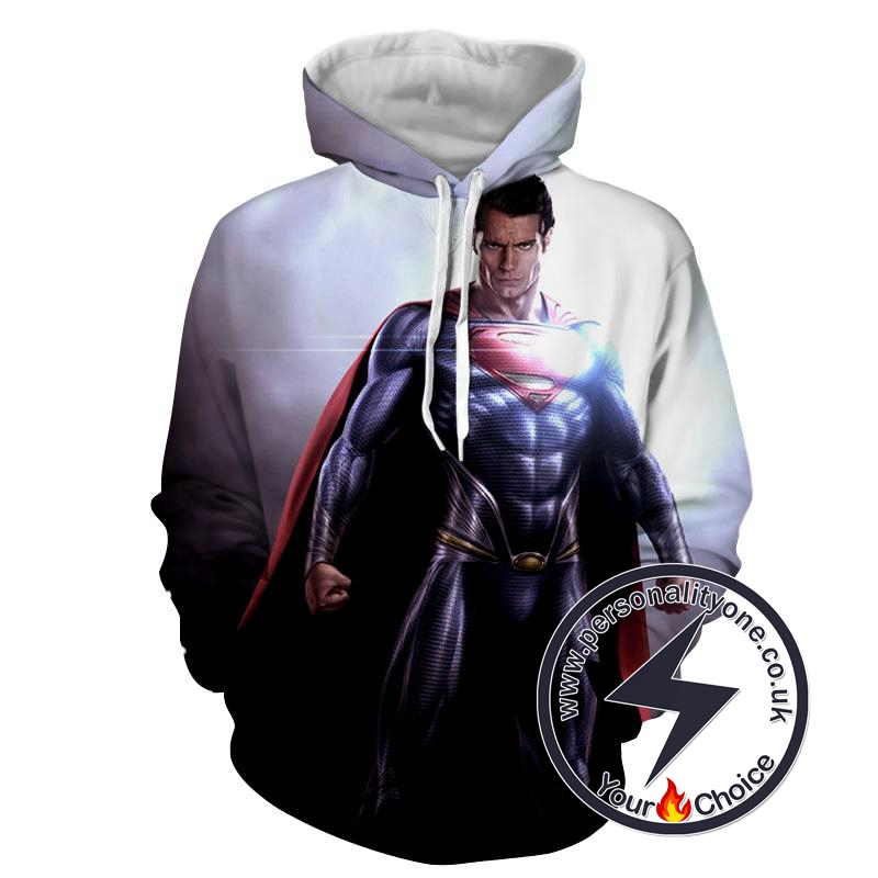 Man of Steel Cool - Superman Sweat Shirt - Superman Hoodies